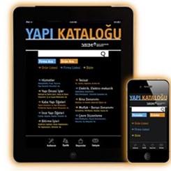 Yapı Kataloğu, iPhone ve iPad Uygulamasıyla Mobil Dünyada