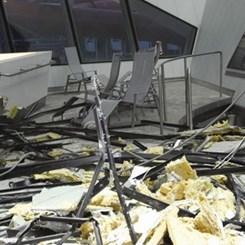 Daniel Libeskind'in Çatısı Üç Yılda İkinci Kez Çöktü