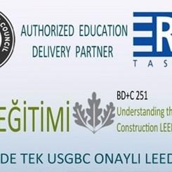 ERKE Tasarım 17 Eylül'de LEED Eğitimi Veriyor
