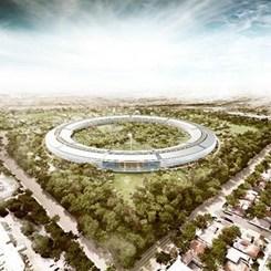 Jobs'a Saygı Duruşu Niteliğinde: Apple'ın Yeni Merkez Üssüne Bir Bakalım