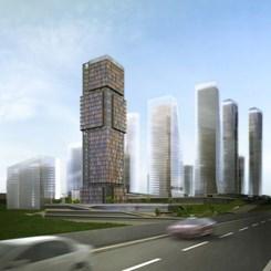 İstanbul Finans Merkezi'nin İlk Yapısı Kreatif'ten