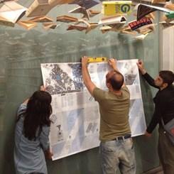 İstanbul Tasarım Bienali Gazetesi 'New City Reader' Duvarlardaki Yerini Aldı
