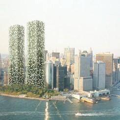 Erdem Mimarlar'ın İkiz Kulesi New York'ta Birinciliğe Değer Görüldü