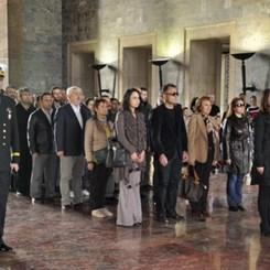 TSMD Üyeleri 10 Kasım'da Anıtkabir'deydi