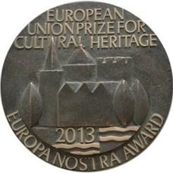 2013 Europa Nostra Kültürel Miras Ödülü'nün Sahipleri Açıklandı