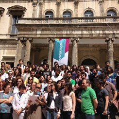 Gezi Parkı Nöbetine Akademisyen Desteği