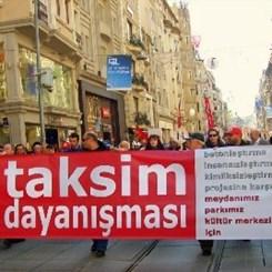 Taksim Dayanışması 'Devam' Dedi