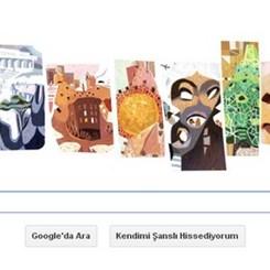 Google'dan Gaudi'ye 161. Yıldönümü Kutlaması