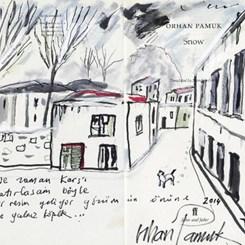 Orhan Pamuk 'Kar'ı Resimledi