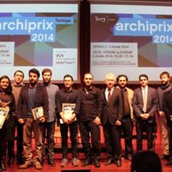 Geçmişin ve Bugünün Kazananları Archiprix-TR Töreni'nde Buluştu