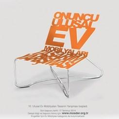 10. Ulusal Ev Mobilyaları Tasarım Yarışması 1. Aşama Finalistleri Belirlendi