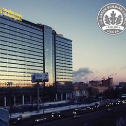 KAYAALParchitects'in Moskova'daki Ofis Yapısına 'Green Apple Award'