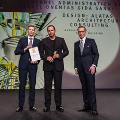 Dardanel Yönetim Binası'na 'German Design Award'