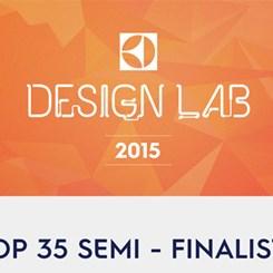 Design Lab 2015 Yarışmasında İlk 35 Finalist Açıklandı
