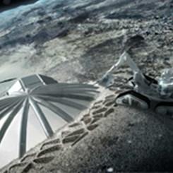 3D Yazıcıyla Ay Üssü İnşa Etmek