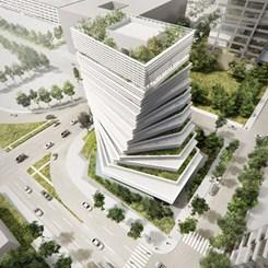 Rolex'in Dallas'taki Yeni Kulesine Kengo Kuma İmzası
