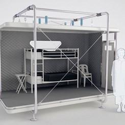 Designnobis'ten Acil Durum Çadırı: Tentative