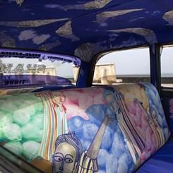 Mumbai'de Taksiler Hareketli Sanat Galerilerine Dönüştü