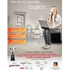 11. Ulusal Ev Mobilyaları Tasarım Yarışması'nın 1. Aşaması Sonuçlandı
