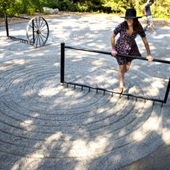 Talmon Biran'dan İnteraktif Zen Bahçesi