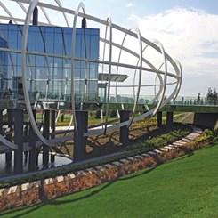 Tema İstanbul Satış Bürosu Peyzaj Tasarımı