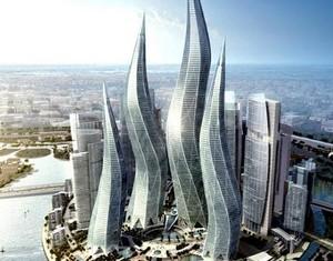 Fantastik mimari cenneti Dubai