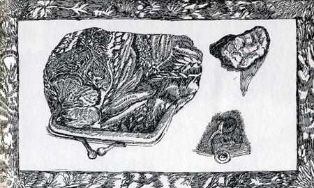 inci Furni, Hafriyat'ın Birgün Gazetesi'nde çıkan çizimlerinden