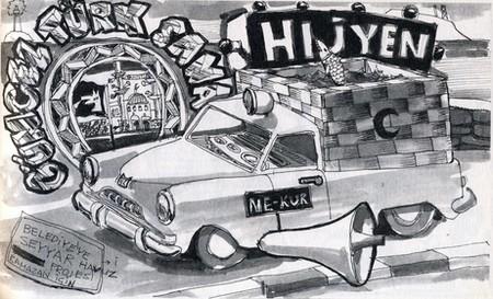 Antonio Cosentino; Hafriyat'ın Birgün Gazetesi'nde çıkan çizimlerinden