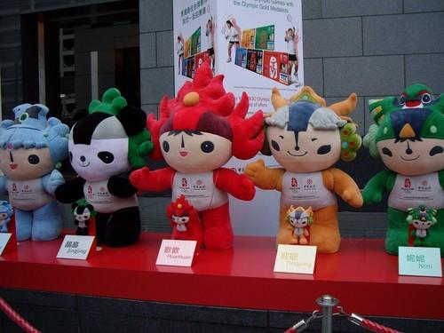 Pekin Olimpiyatları Resmi Maskotları