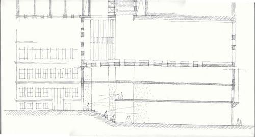 Platform Garanti Güncel Sanat Merkezi Eskiz / Han Tümertekin