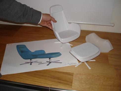 IKEA tasarımcısı Stanley Nielsen'ın MALUG TV koltuğu ve RUSSIG çocuk oyuncağı tasarım örnekleri