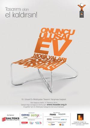 4. Ulusal Mobilya Tasarım Yarışması başvuruları başladı