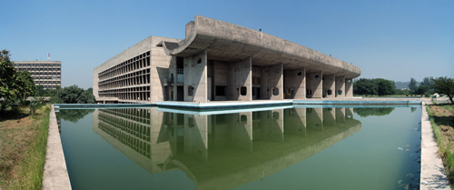 Complexe du Capitole, Chandigarh, Hindistan, 1952