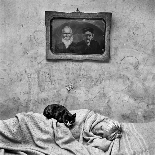 Roger Ballen, Portrait of Sleeping Girl, 2000