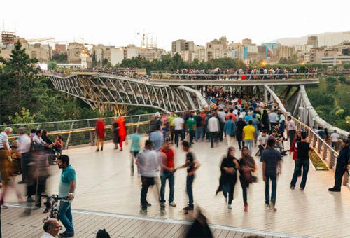 Tabiat Pedestrian Bridge