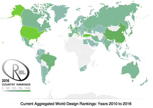 A' Design Award World Design Rankings