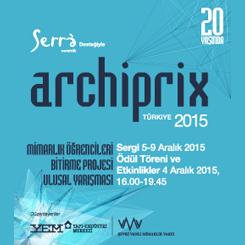 Archiprix-TR 2015 Ödül Töreni