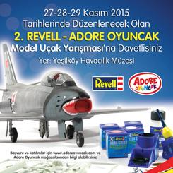 2. Revell - Adore OyuncakMaket Uçak Yarışması