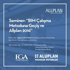 BIM Çalışma Metoduna Geçiş ve ALLPLAN 2016