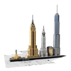 Lego ile Ünlü Kent Siluetlerini Yeniden Yaratın