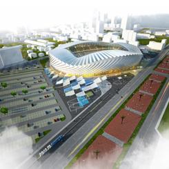BKA'dan Batum'a Yeni Stadyum