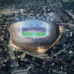 İngiliz Futbol Takımı Chelsea'ye Tuğla ve Çelikten Bir Stadyum
