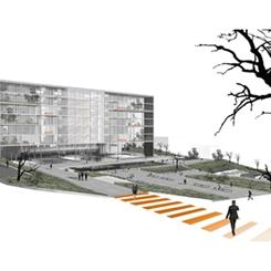 Dila Gökalp Architects - TESKİ Hizmet Binası Mimari Proje Yarışması