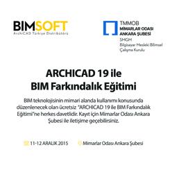 ArchiCAD 19 ile BIM Farkındalık Eğitimi | Ankara