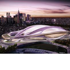 Zaha Hadid Tokyo Olimpiyat Stadyumu'nun Telif Haklarını Devretmeyi Reddediyor