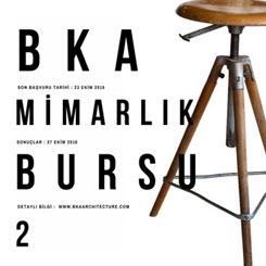 BKA Mimarlık Bursu 2. Yılında Türkiye Geneline Dağıtıldı