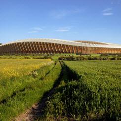 Zaha Hadid Architects'ten Ahşap Strüktürlü Stadyum
