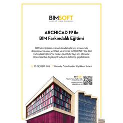 ARCHICAD 19 ile BIM Farkındalık Eğitimi | İstanbul