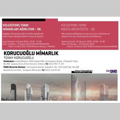 Koleksiyon/TSMD, Korucuoğlu Mimarlık'ı Ağırlıyor