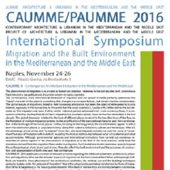 CAUMME / PAUMME 2016 Bildiri ve Mimari Proje Çağrısı